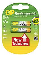 Аккумулятор бытовой GP 85ААAHC-U2 Ni-MH R03 (ААA, 1,2V, 850mAh)