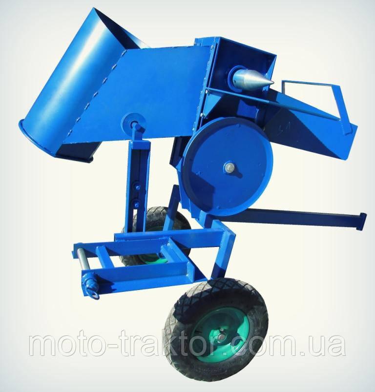 Измельчитель веток премиум для мототрактора + дровокол с конусом 65 мм
