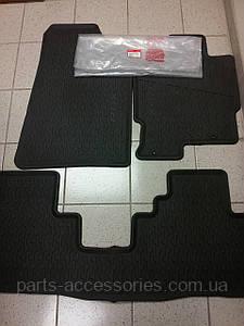 Коврики резиновые черные передние задние Acura RDX 2007-08 новые оригинальные