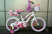 """Велосипед VNV 16' 18"""" Miss (бело-розовый) (19618117)"""