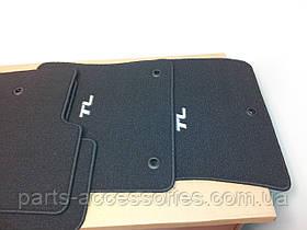 Коврики черные велюровые Acura TL 2009-12 передние задние новые оригинал