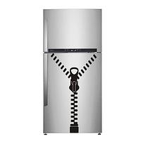Виниловая интерьерная наклейка - Замок на холодильник