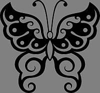 Виниловая интерьерная  наклейка Бабочка 3, фото 1
