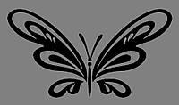 Виниловая интерьерная  наклейка Бабочка 5
