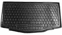 Пластиковый коврик в багажник Hyundai i10 II (IA) 2014- (AVTO-GUMM)