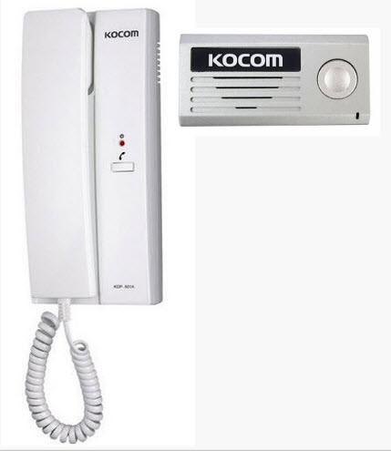 Установка аудиодомофонов для квартир