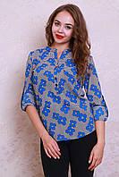 Молодёжная женская блуза-рубашка, фото 1