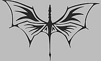 Виниловая интерьерная наклейка - Птеродактиль, фото 1