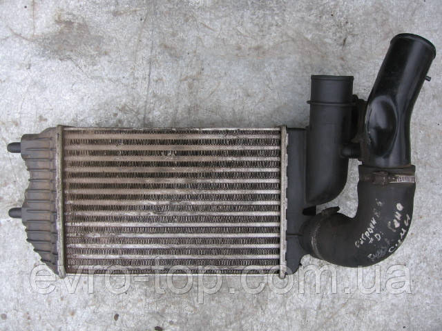 Радиатор интеркулера 1307012080 б/у на Citroen Jumper, Fiat Ducato, Peugeot Boxer год 1994-2002