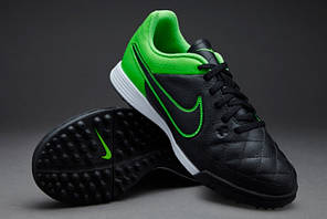 Сороконожки Nike Tiempo JR TF Genio 631529-003 найк темпо (Оригинал), фото 2