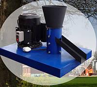 Гранулятор для комбикорма  ГКМ 100 (бройлеры,перепела,рыба,КРС,свиньи)с электродвигателем 1.5 кВт 380 вольт