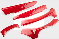 "Пластик VIPER F1, F50 нижний пара (лыжи) (красный) ""KOMATCU"""