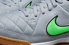 Футзалки Nike JR Tiempo Genio Leather IC 631528-030 (Оригинал), фото 2