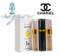Подарочный набор парфюмерии Chanel Chance Шанель Шанс  женские мини духи 3*15мл