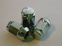 Гайка М12Х1.25 /35mm хром, ключ 17