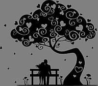 Виниловая наклейка - Дерево
