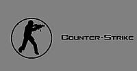 Виниловая наклейка Counter strike