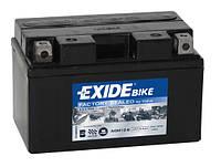 Аккумулятор для мотоцикла гелевый EXIDE SLA12-8= AGM12-8  8,6 Ah 150x87x93