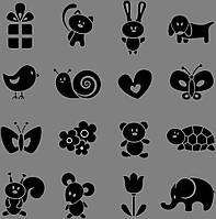 Виниловая наклейка Набор Animal