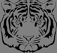 Виниловая наклейка Тигр, фото 1