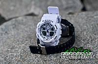 Спортивные наручные часы Casio G-Shock GA 100 Белые, фото 1