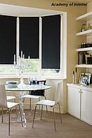 Рулонные шторы открытого типа на окно