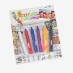 Краски карандаши для лица аквагрим 6 шт. - Under toys в Луцке