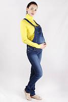 Джинсовый комбинезон для беременных (1)