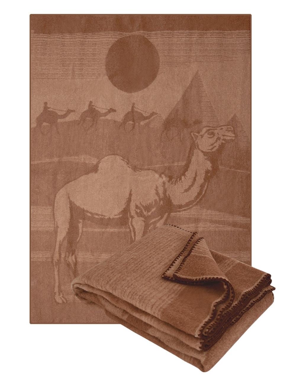 Одеяло из верблюжьей шерсти, 140х205 см ТМ Ярослав