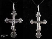 Серебряный крестик Арт. 30026