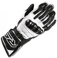 Мотоперчатки воловья кожа карбоновая защита силиконовые вставки косточек RST размер L