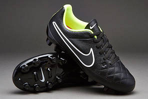 Бутсы детские Nike JR TIEMPO GENIO LEATHER FG 630861-017 найк темпо (Оригинал), фото 2