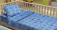 Красивый комплект детского постельного белья KIDS MARINES LT15
