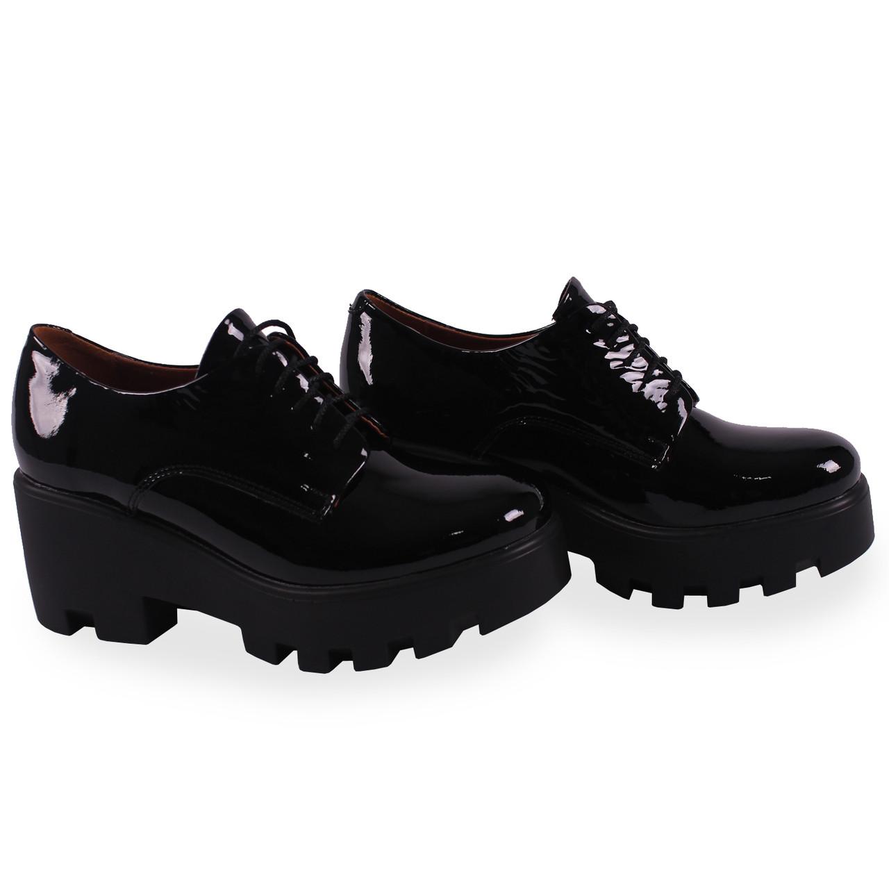 женские туфли на платформе фото