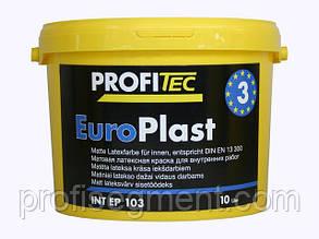Латексная износостойкая краска Europlast мат. 3 DE 103, 10л