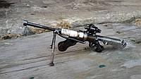 Снайперская винтовка из свечи. Сувенир из металла