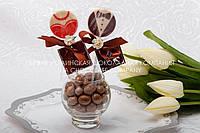 Подарок гостям бутоньерка жених и невеста