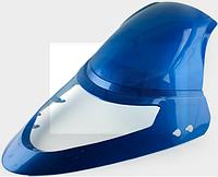 """Пластик VIPER F1, F50 передний (клюв) (синий) """"KOMATCU"""""""