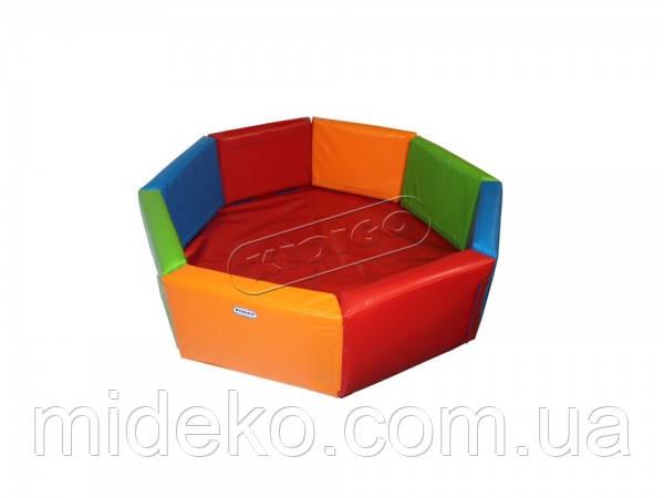 Сухой бассейн KIDIGO™ Восьмиугольник 1,5 м