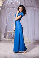 Длинное изящное платье 4 цвета