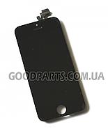 Дисплей с тачскрином для iPhone 5 черный high copy