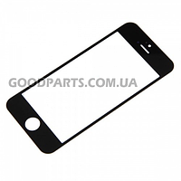 Стекло для iPhone 5 (5s,5c) черный (Оригинал)