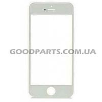 Стекло для iPhone 5 (5s, 5c) белый (Оригинал)