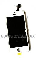 Дисплей с тачскрином для iPhone 5s белый high copy