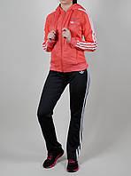 Женский спортивный костюм Adidas 7116 Кораловый