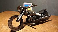 Мотоцикл из свечи