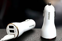 Автомобильное зарядное устройство REMAX на 3 USB