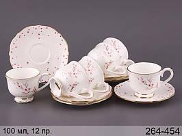 Кофейный набор 100мл 12 предметов Сакура Lefard 264-454