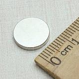 Неодимовый магнит 12x2 мм, фото 2