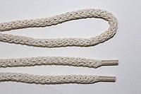 Шнурки круглые ХБ 6мм молоко